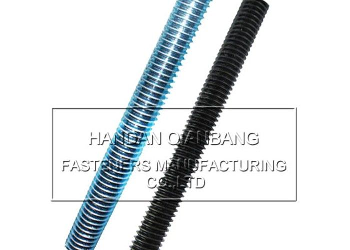 Industrial DIN975 Full Threaded Rod Fasteners , Carbon Steel Fully Threaded Studs