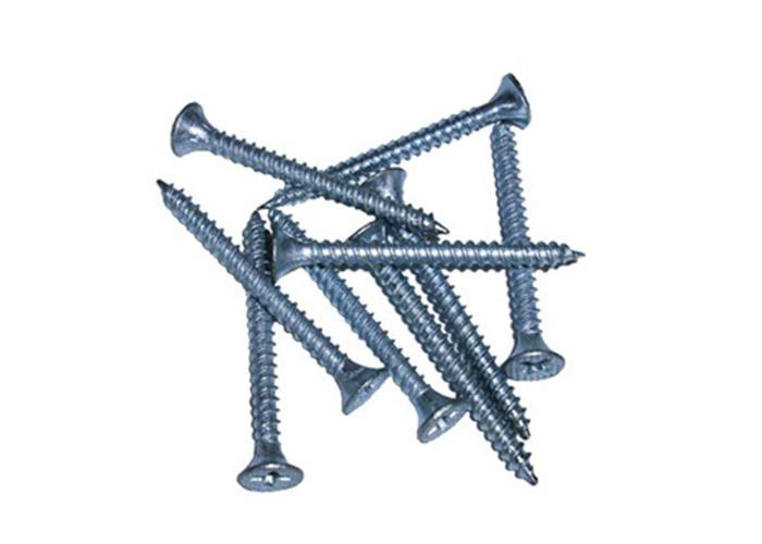 Chipboard And Drywall Self Drilling Screws / Flat Head Self Tapping Screws