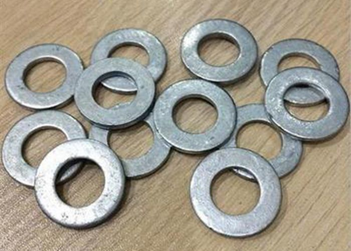 Hot Dip Galvanized Metal Flat Washers , Precision Flat Ring Gasket ...