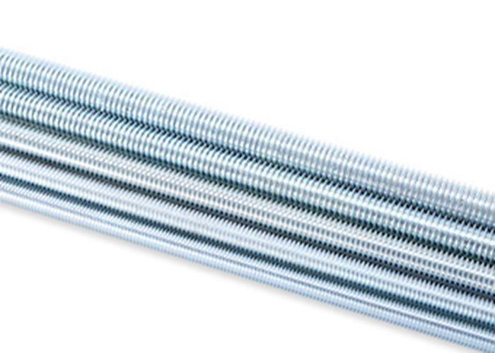 Long Metric Full Threaded Rod Carbon Steel Material M4 / M5