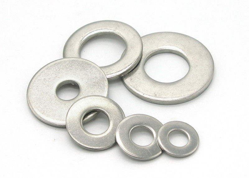 4.8 Grade Iron Flat Washers In Bulk With DIN125 / DIN9021 / DIN126 / DIN7989