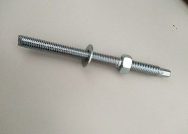 China Chemical Anchor Bolt Iron Material , Mechanical Anchor Bolt For Wall / Construction distributor