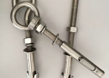 China Hardware Fasteners All- Powerful  Anchor Bolts With White Zinc Plated distributor