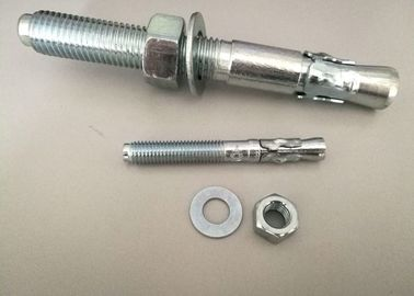 Hardware Fasteners Expansion Anchor Bolt Wedge Anchors With White Zinc Plated